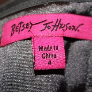 Betsey Johnson Dresses - Betsey Johnson Silver Homecoming Dre